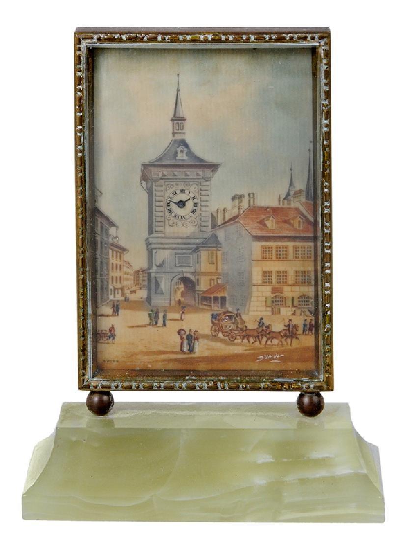 Didisheim-Goldschmidt Desk Clock