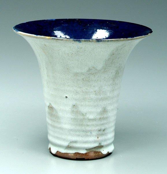 4: Jugtown vase,