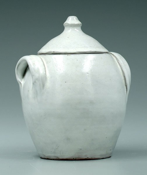 24: Ben Owen lidded jar,