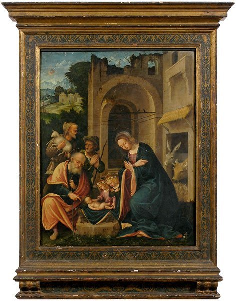 596: Old Master painting,
