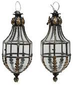 Pair of Carriage House Lanterns