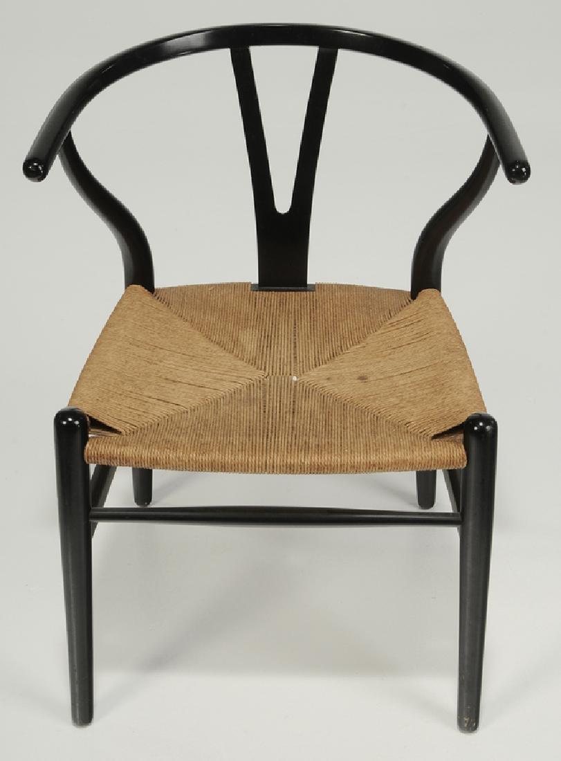"Set of six Hans Wegner ""Wishbone"" Dining Chairs - 2"