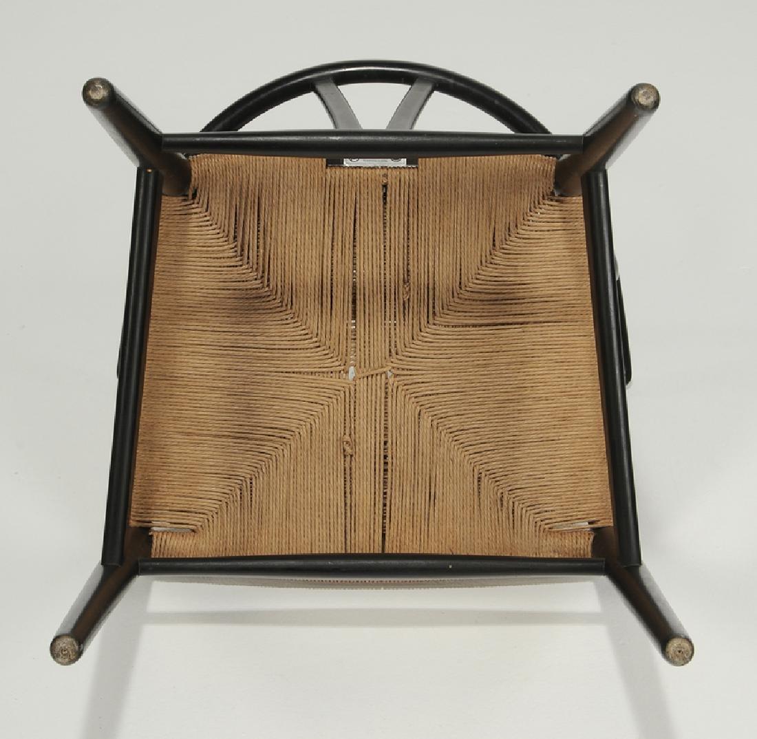"Set of six Hans Wegner ""Wishbone"" Dining Chairs - 6"