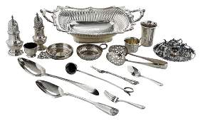 30 Silver Table Items