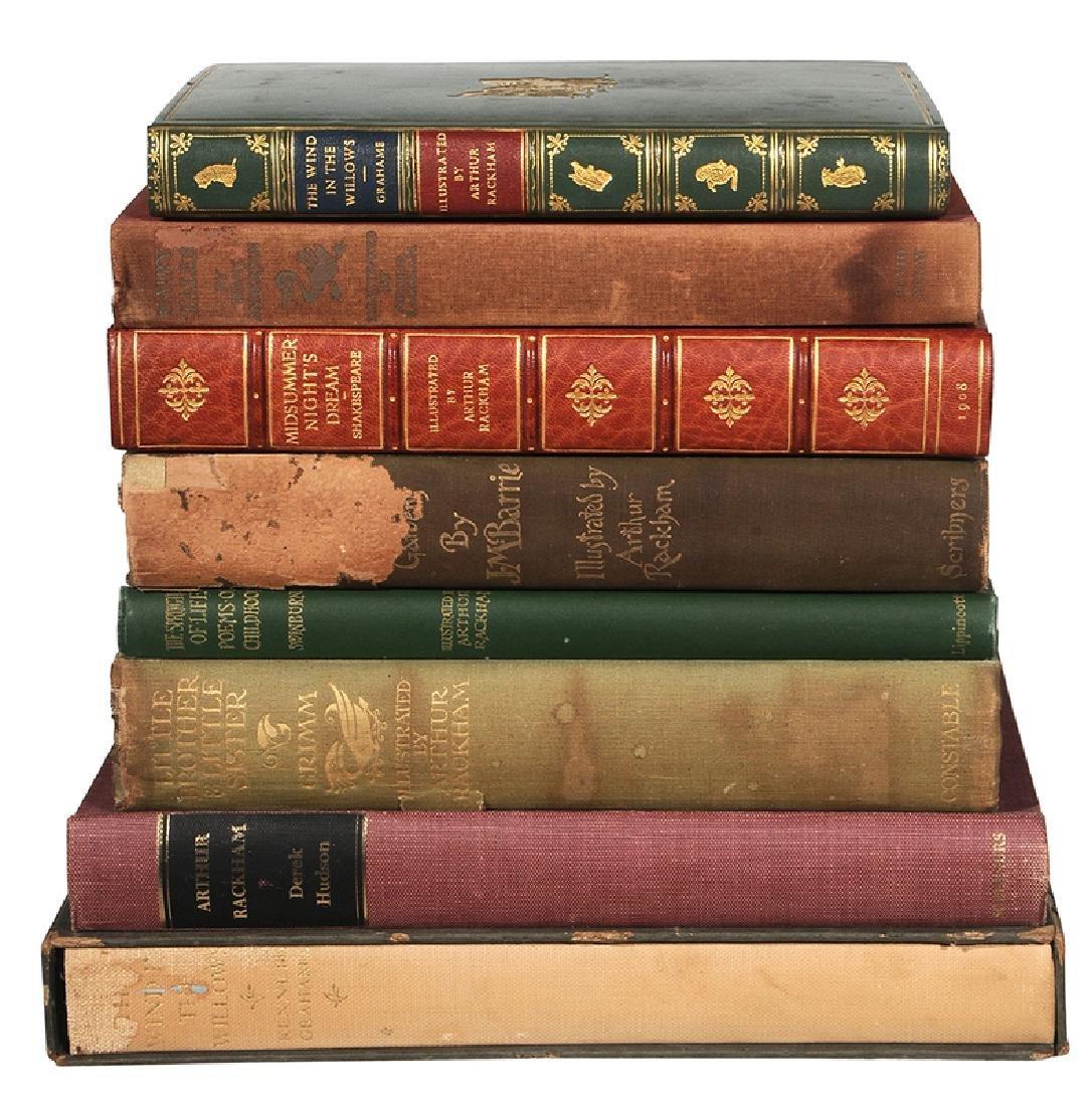 Eight Arthur Rackham Illustrated Books