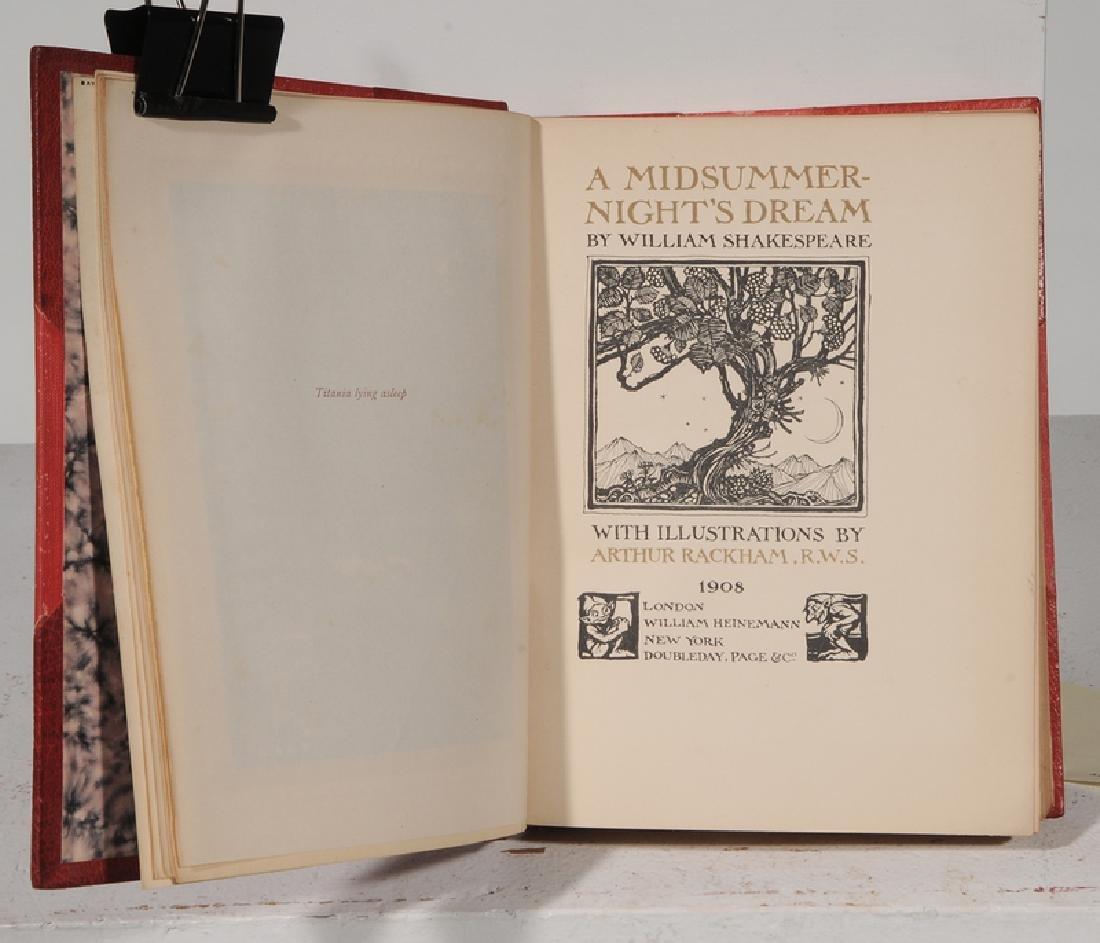Eight Arthur Rackham Illustrated Books - 6