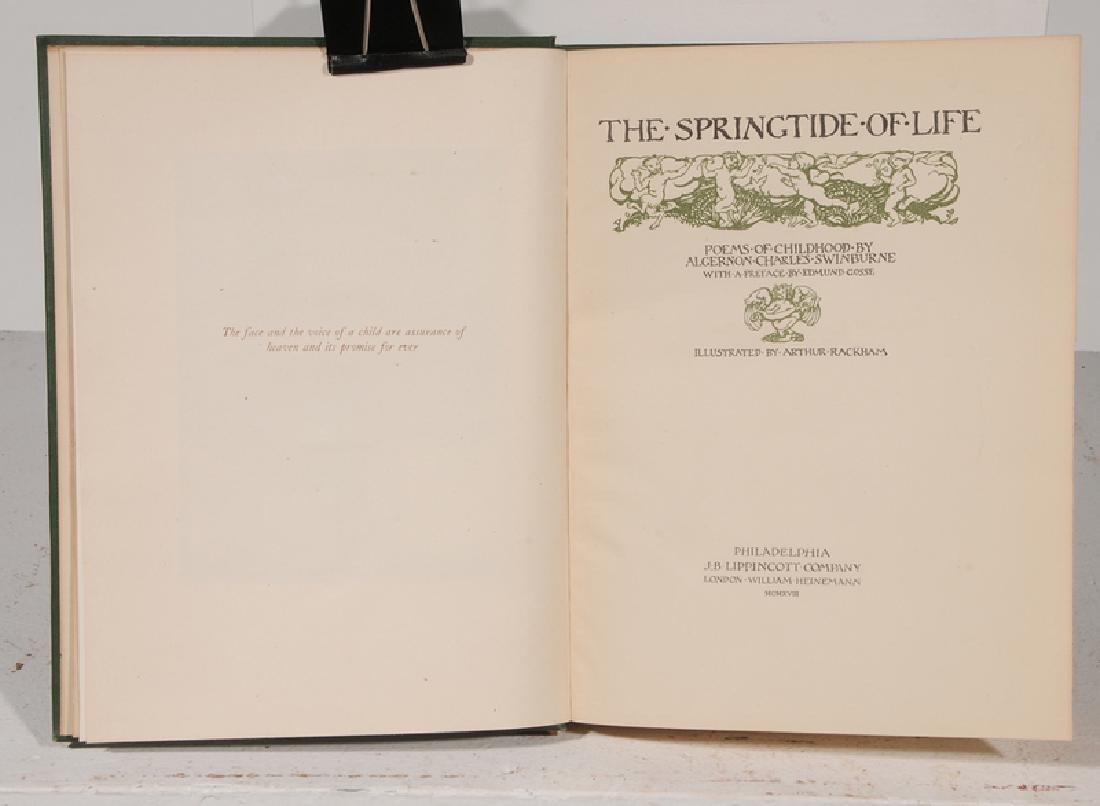 Eight Arthur Rackham Illustrated Books - 8