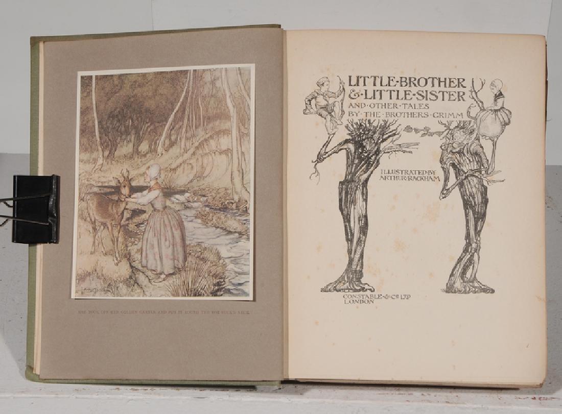 Eight Arthur Rackham Illustrated Books - 9