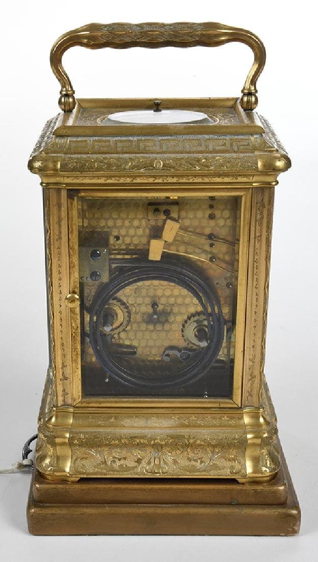 Grande Sonnerie Repeater Carriage Clock - 5