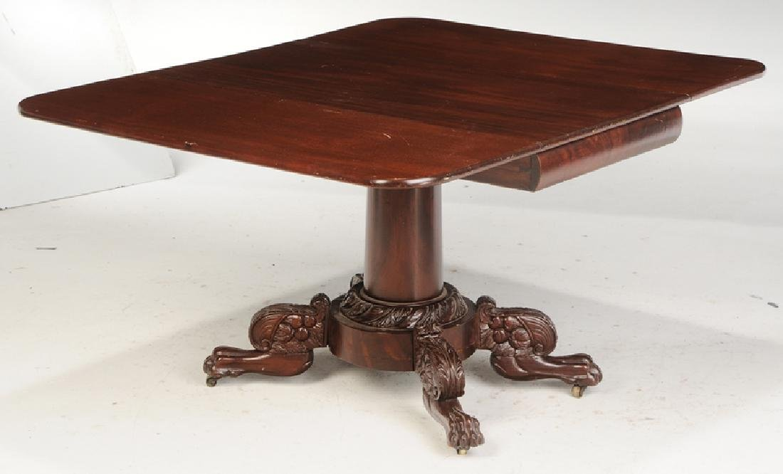 American Classical Drop Leaf Breakfast Table - 2
