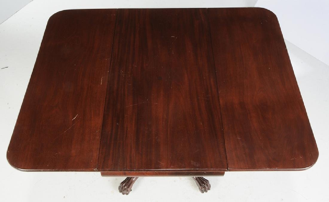American Classical Drop Leaf Breakfast Table - 5