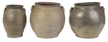 Scarce Vestal Family Attributed Stoneware