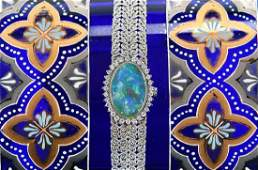 Chopard 18kt Diamond  Opal Watch