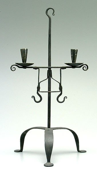 19: Adjustable candle stand,