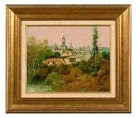 125: Painting attributed to Jose Jardines,