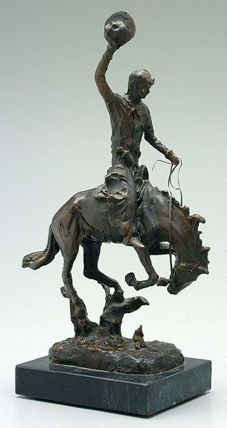Bronze figure after Kauba,