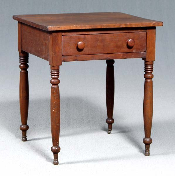 1: Federal cherry stand,
