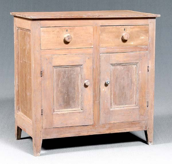 6: Southern yellow pine jelly cupboard,