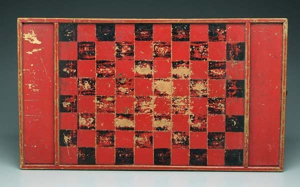 9: Painted game board,
