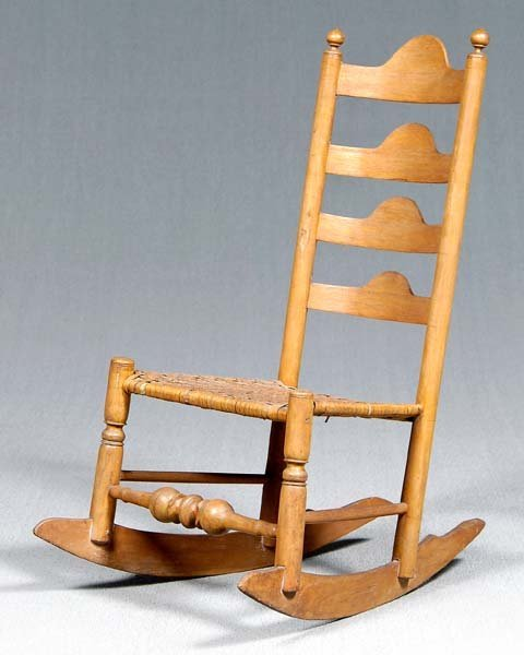 20: Delaware Valley rocking chair,