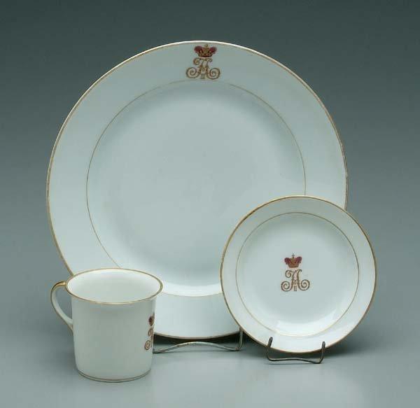 31: 22 pieces Russian porcelain: