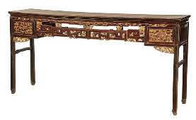 Monumental Chinese Altar Table