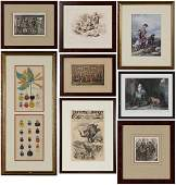 Group of Eight Miscellaneous Prints