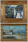 Two Coastal Paintings