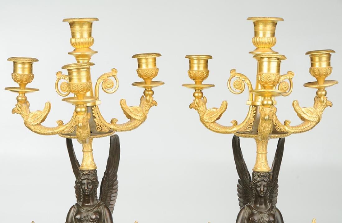 Fine Pair Russian Empire Style Candelabra - 2