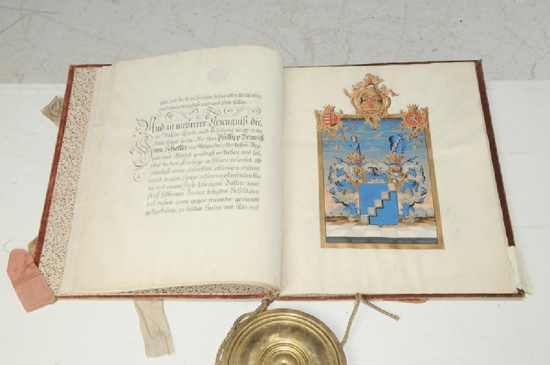 Francis II Austro-Hungarian Patent of Nobility - 9