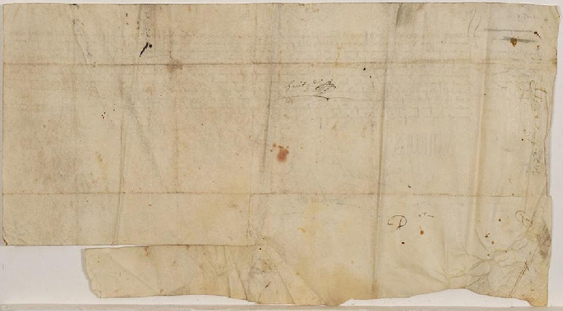A Francis I, King of France, Document - 5