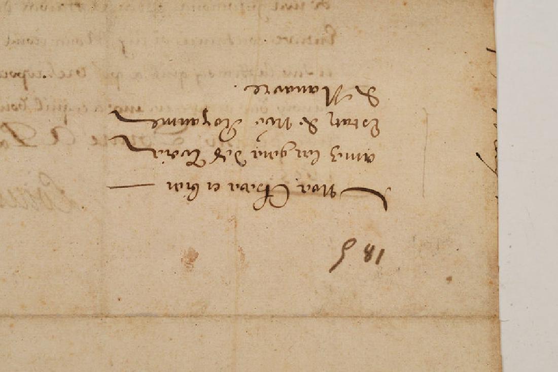 A Louis XIV Royal Document - 4