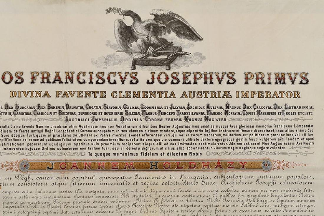 Two Austro-Hungarian Franz Josef Documents - 8