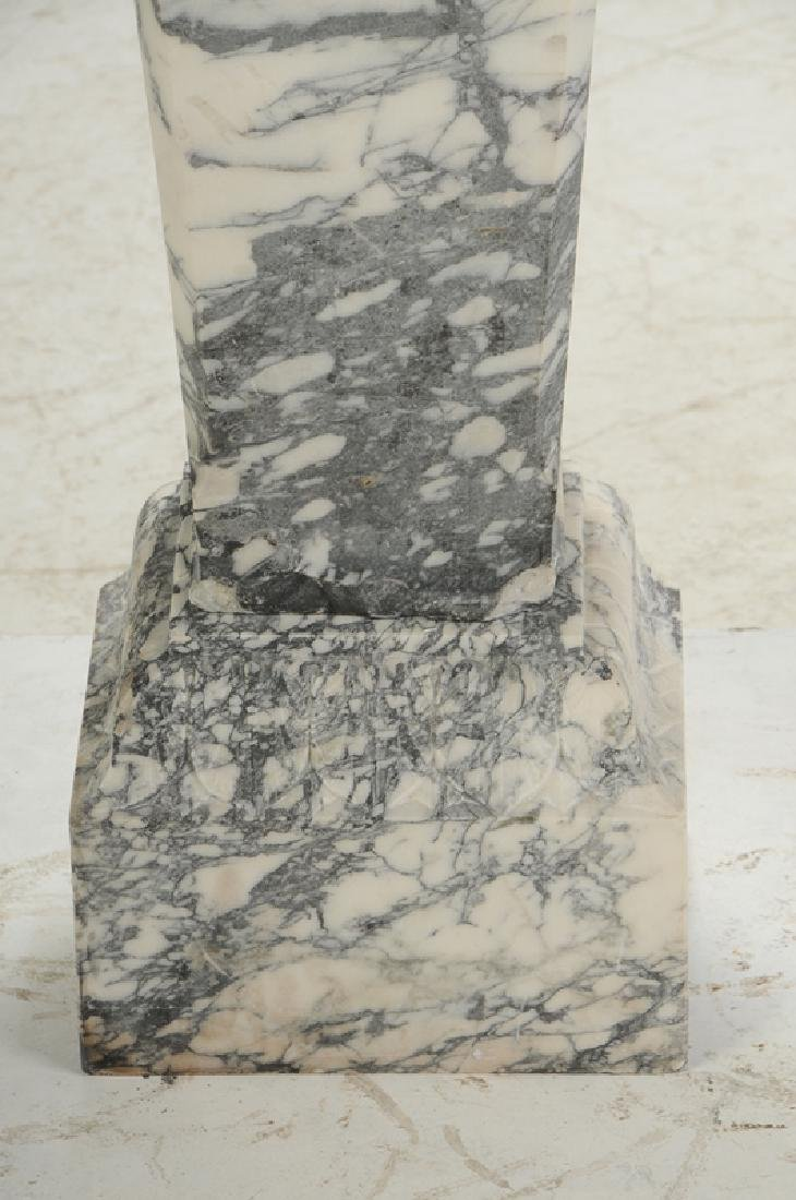 A Fine Pair Carved Marble Pedestals - 7