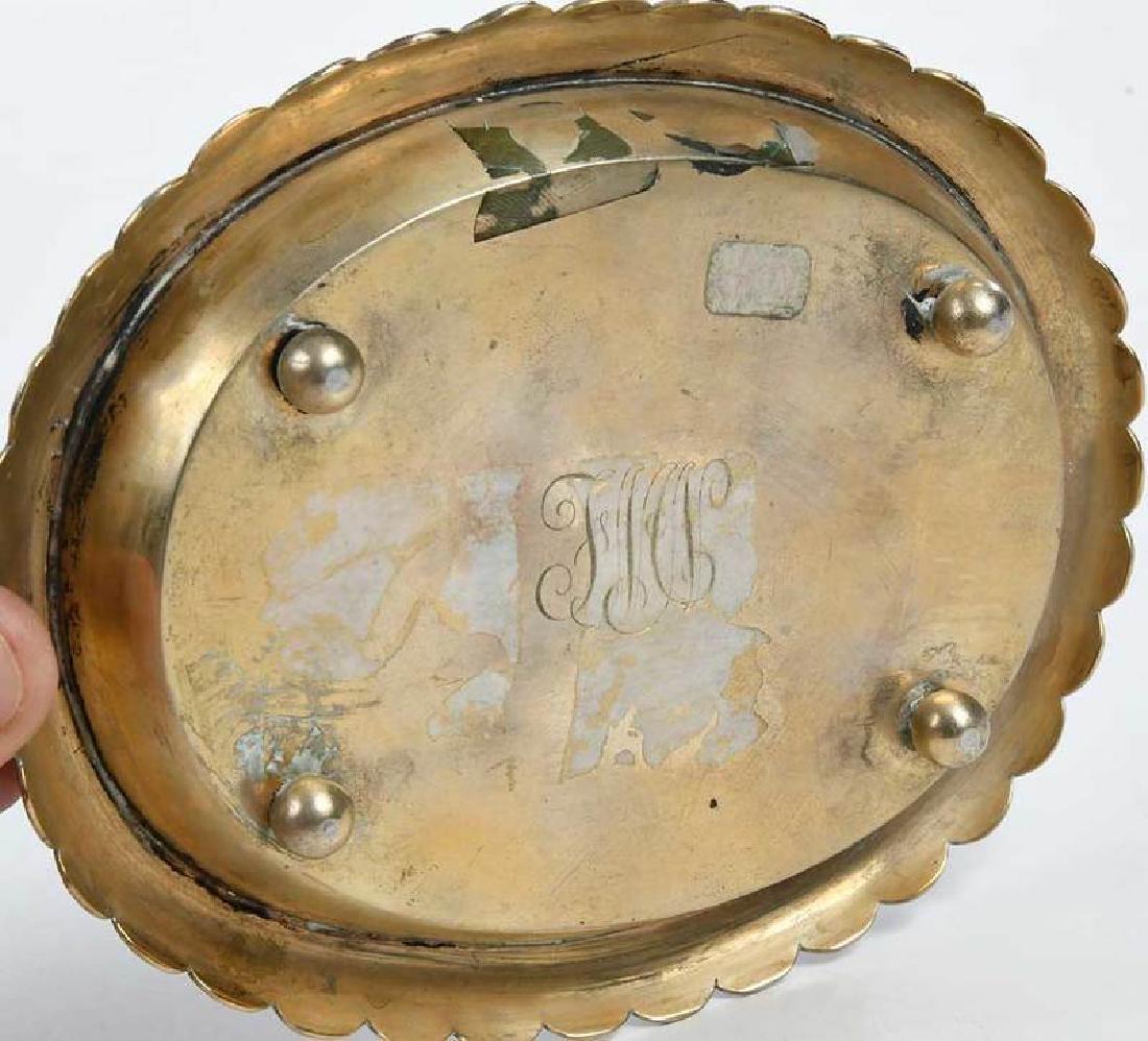 Russian Silver Champlevé Dish - 7
