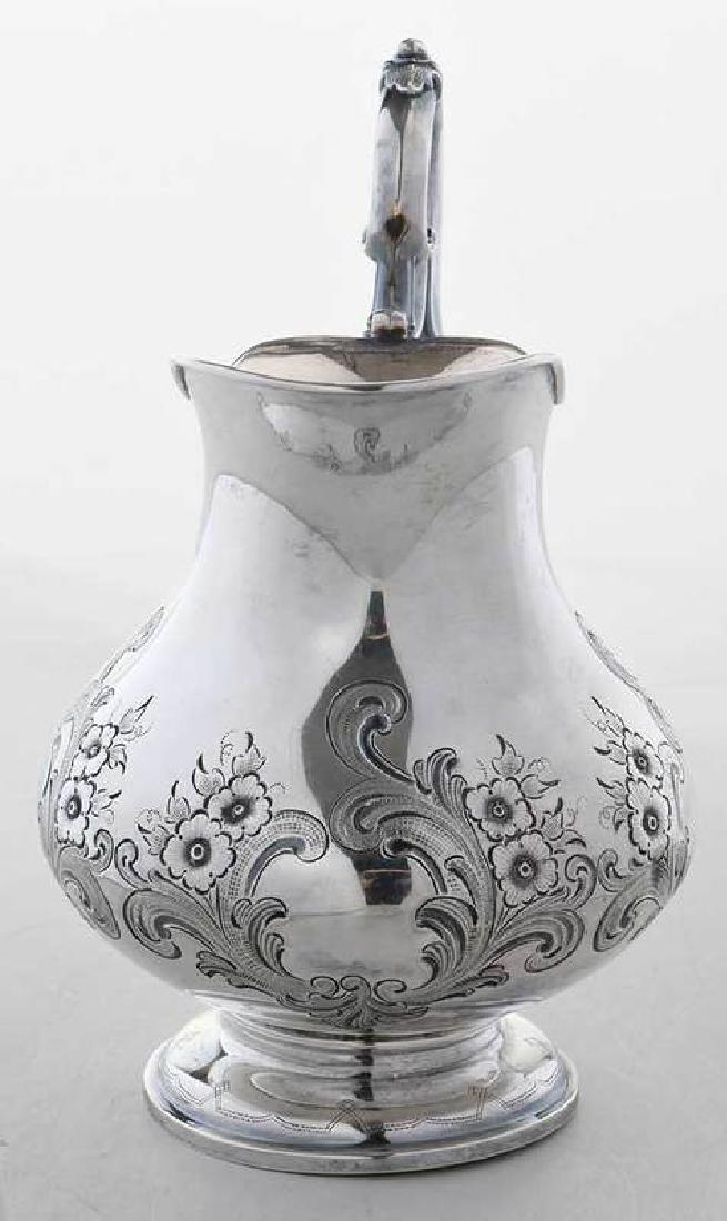 Russian Silver Creamer - 3