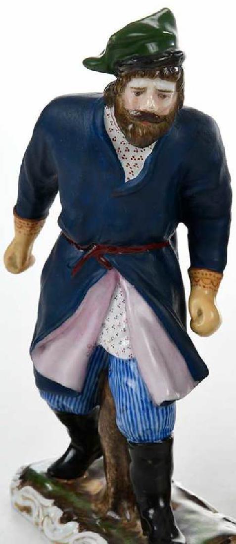 Five Russian Porcelain Figures - 2