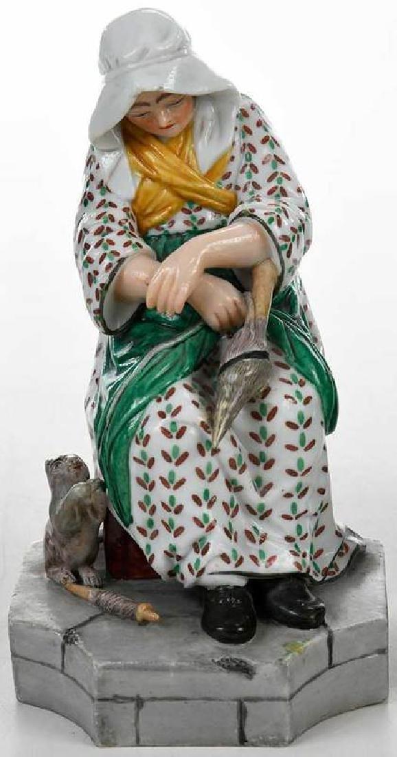 Five Russian Porcelain Figures - 4