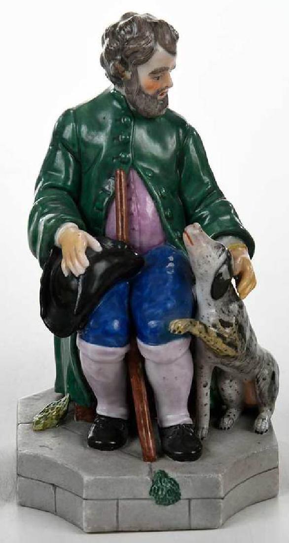 Five Russian Porcelain Figures - 5
