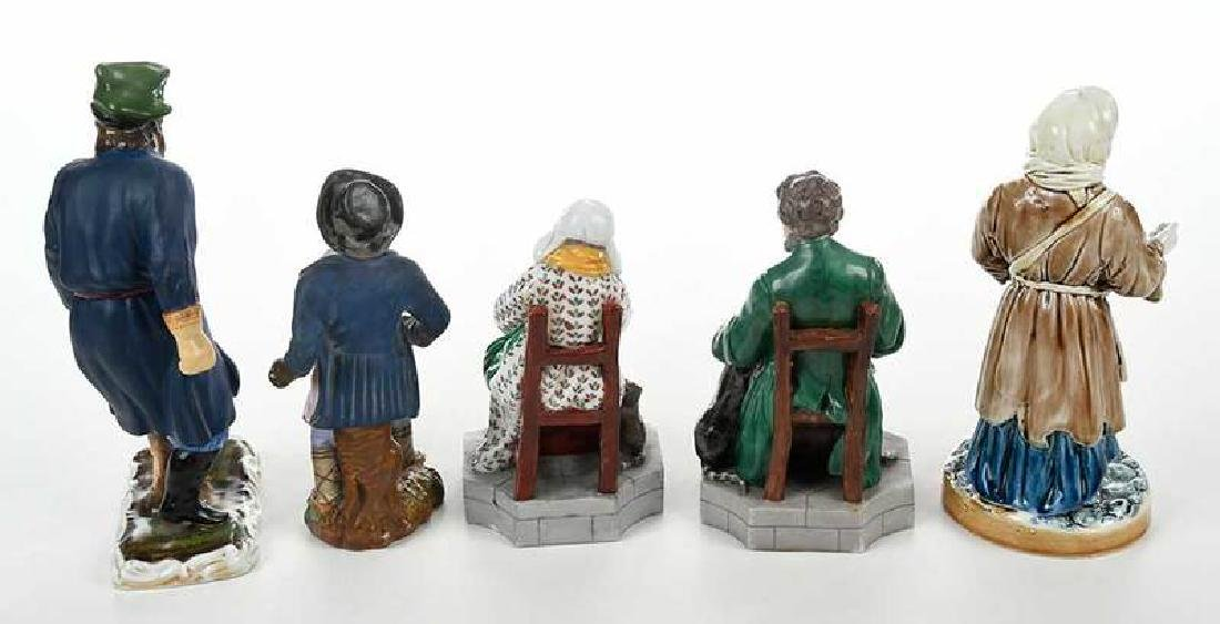 Five Russian Porcelain Figures - 8