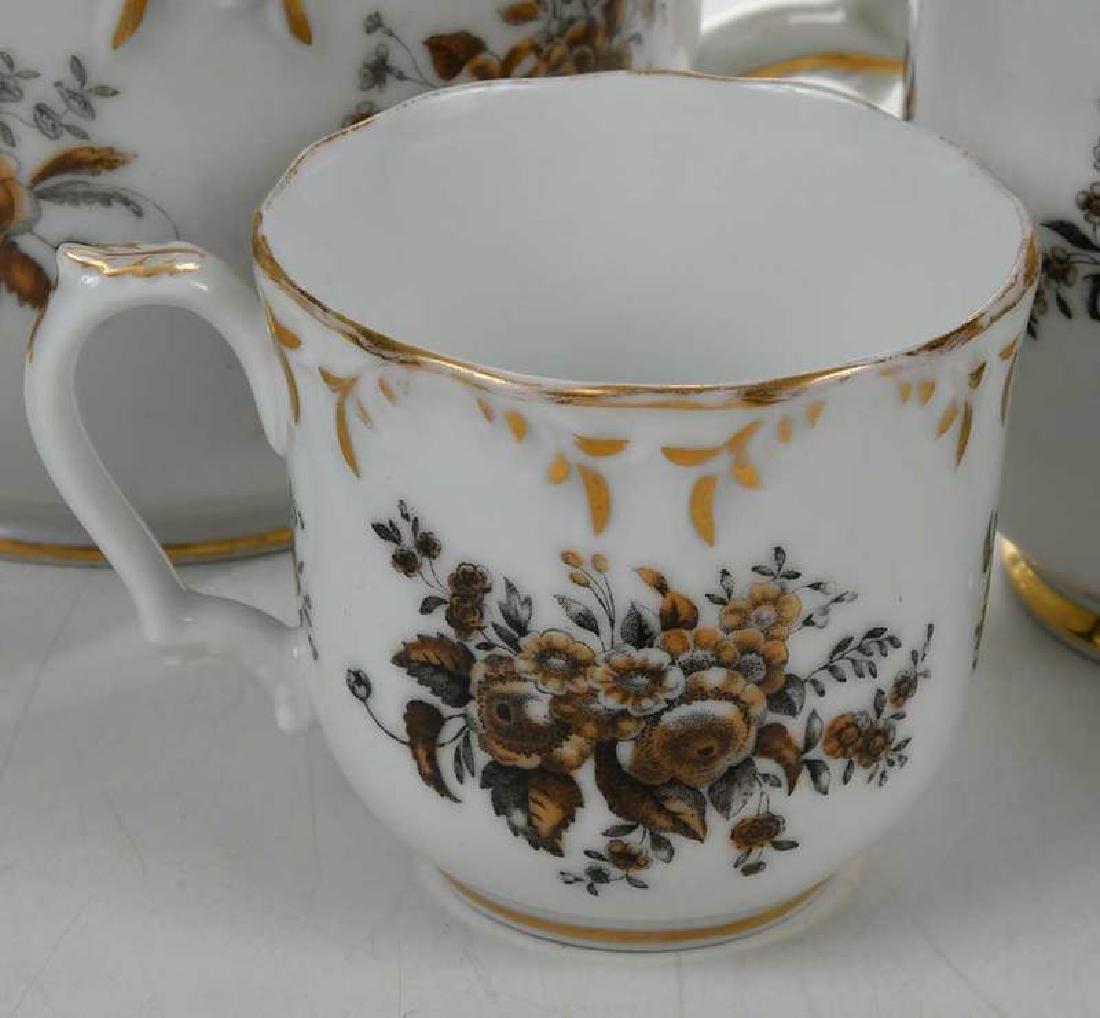 Russian Popov Factory Porcelain Tea Set - 5
