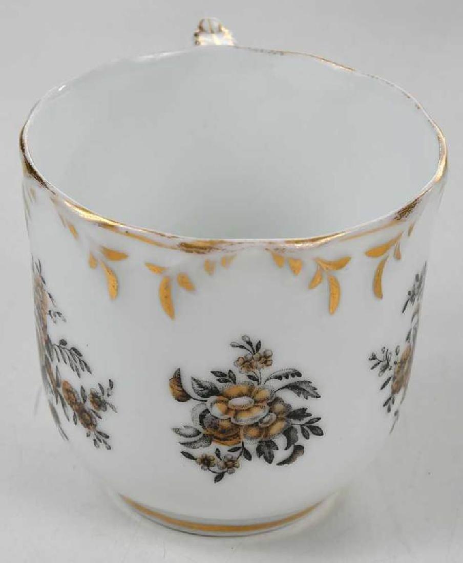 Russian Popov Factory Porcelain Tea Set - 6