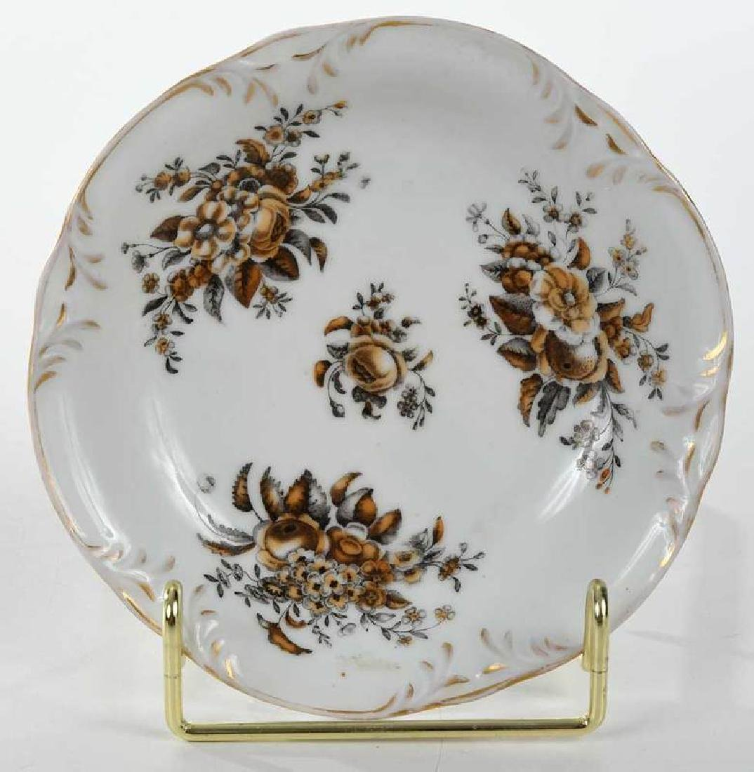 Russian Popov Factory Porcelain Tea Set - 7