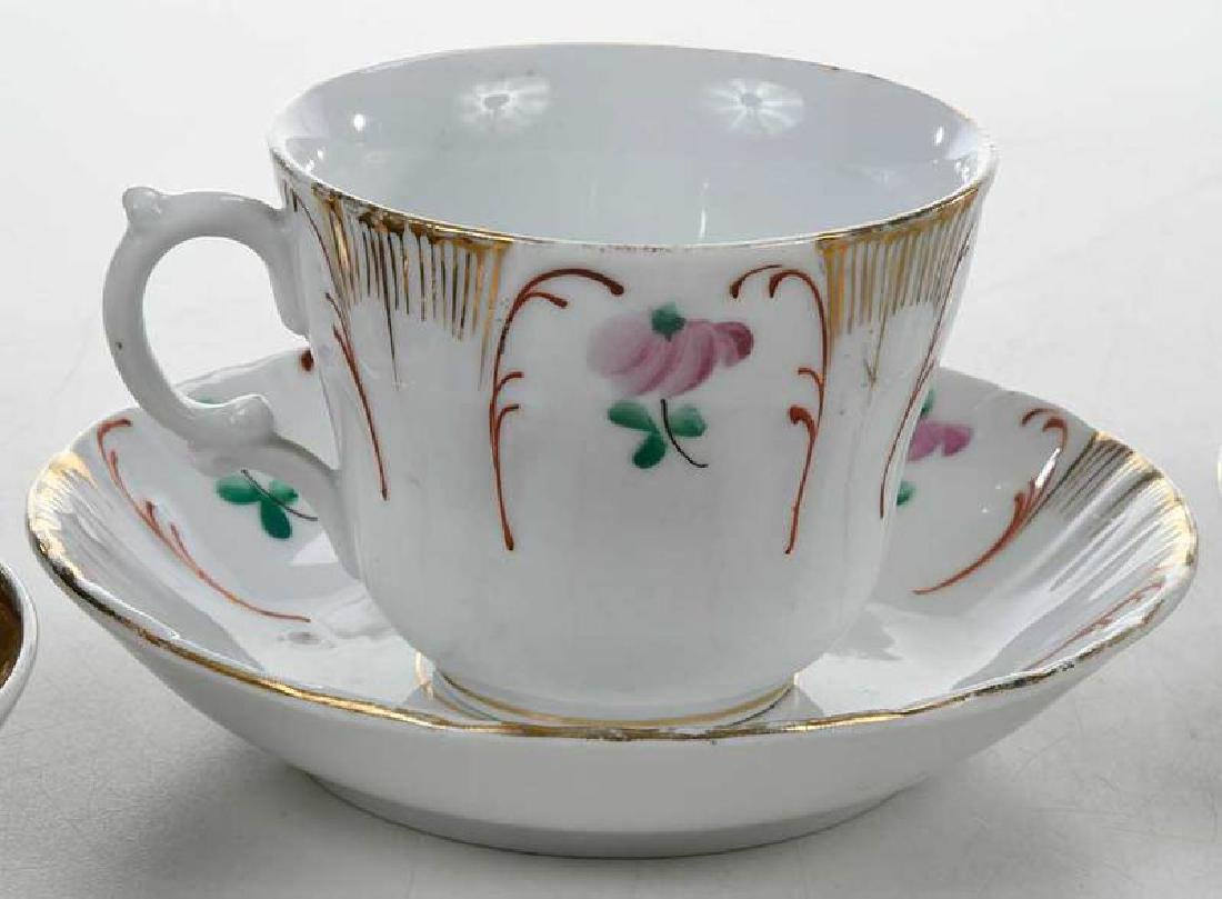 Four Russian Porcelain Cups and Saucers - 3