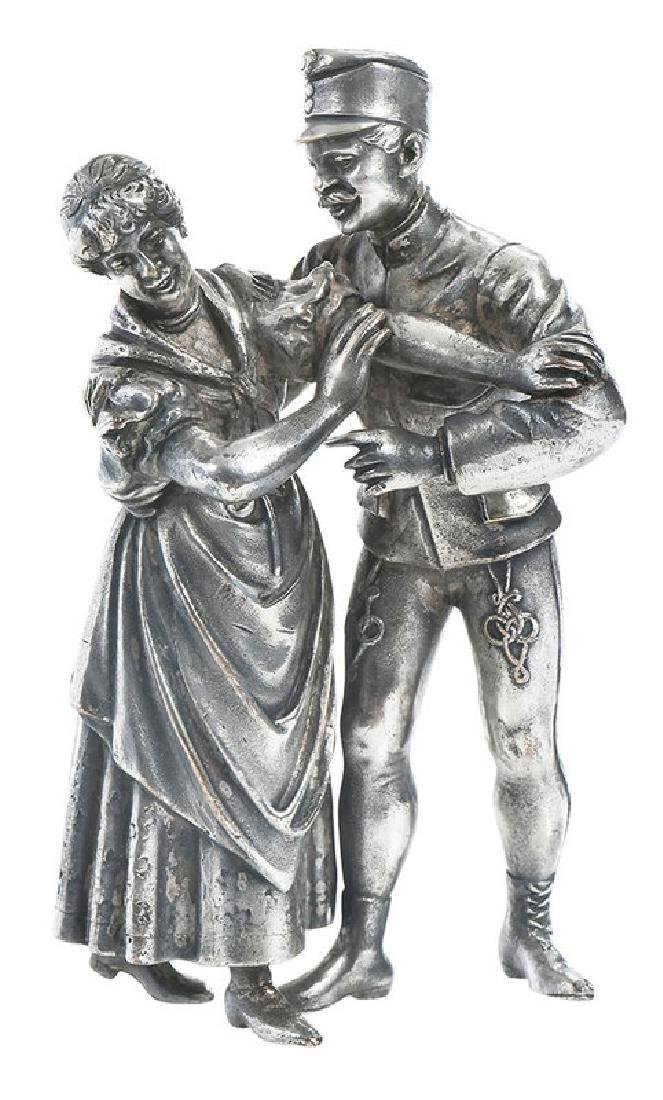 Russian Silver-Plate Figures
