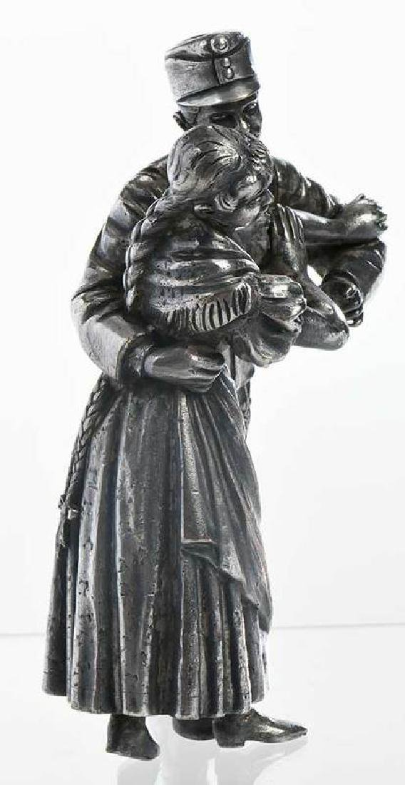 Russian Silver-Plate Figures - 2