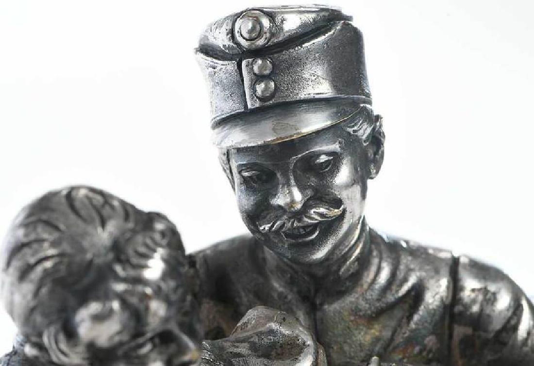 Russian Silver-Plate Figures - 6