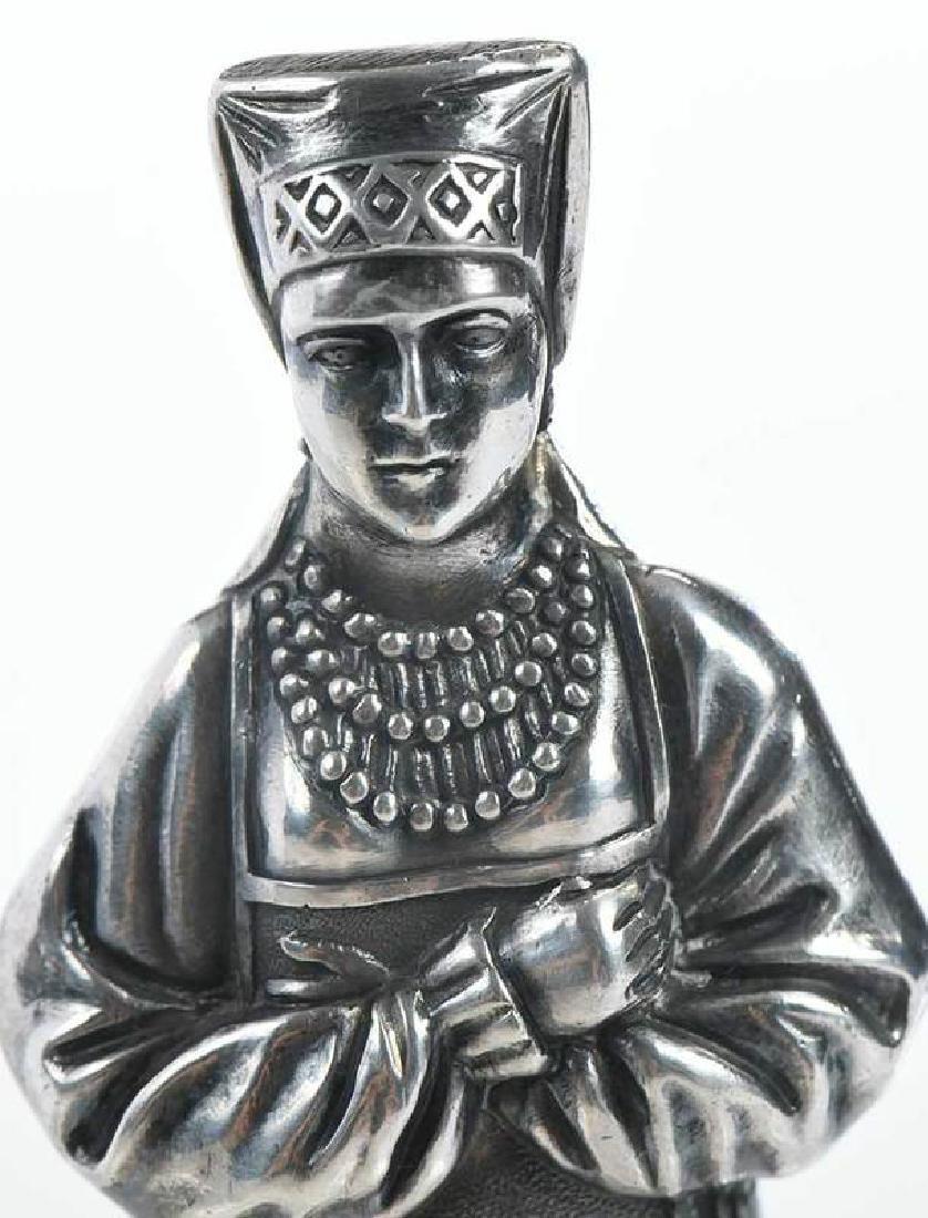 Russian Silver Figure - 8