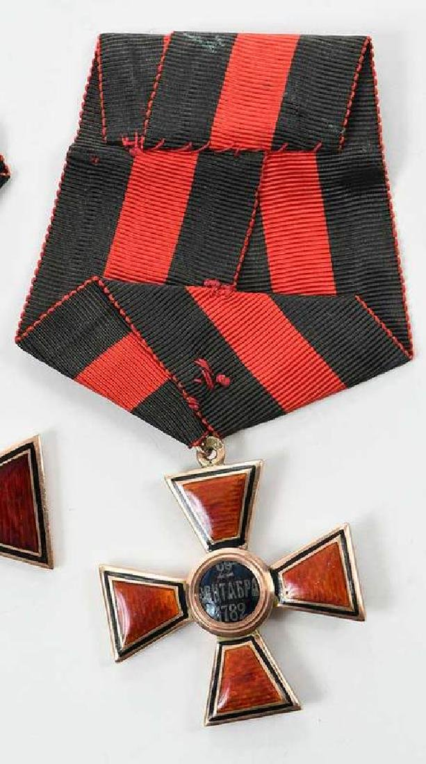 Two Russian Imperial Order St. Vladimir Medals - 5