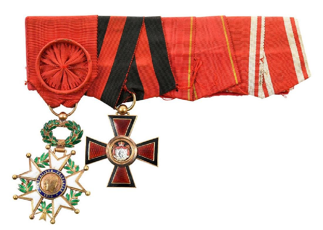 St. Vladimir and French Legion of Honor Medals